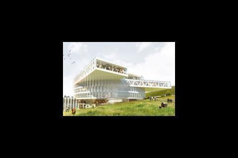 Faroe Islands' Education Centre, designed by BIG and Fuglar